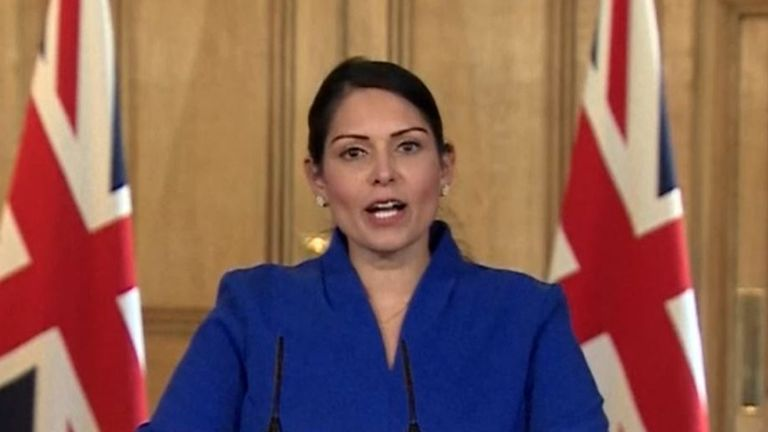 Earlier this month, Priti Patel announced more measures to help victims