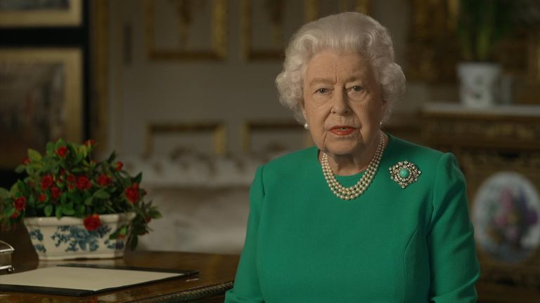 The Queen has delivered a historic address to the nation amid the coronavirus pandemic.