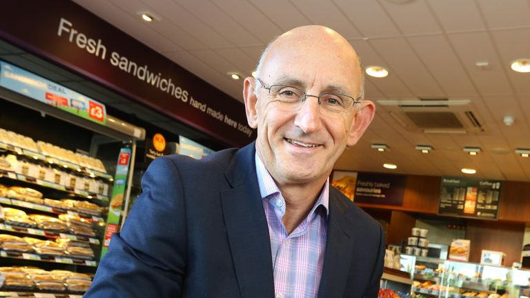 Greggs chief executive Roger Whiteside hopes the trial will lead to more shops reopening