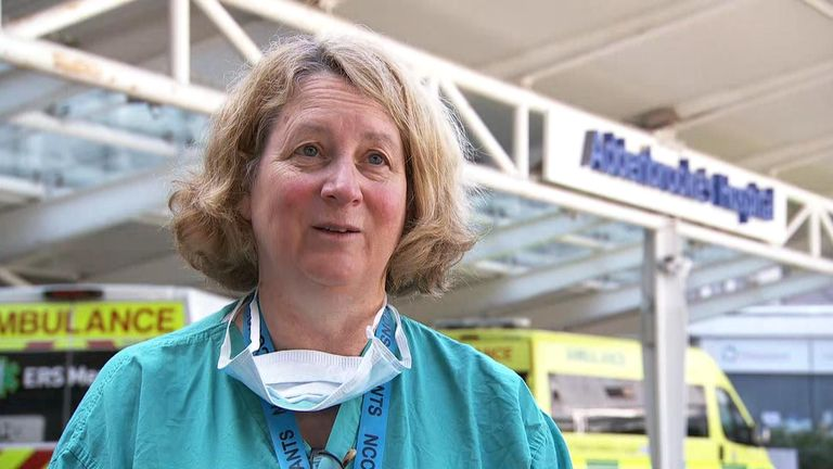 Dr Rowan Burnstein said patients can also use the iPads to communicate with nurses