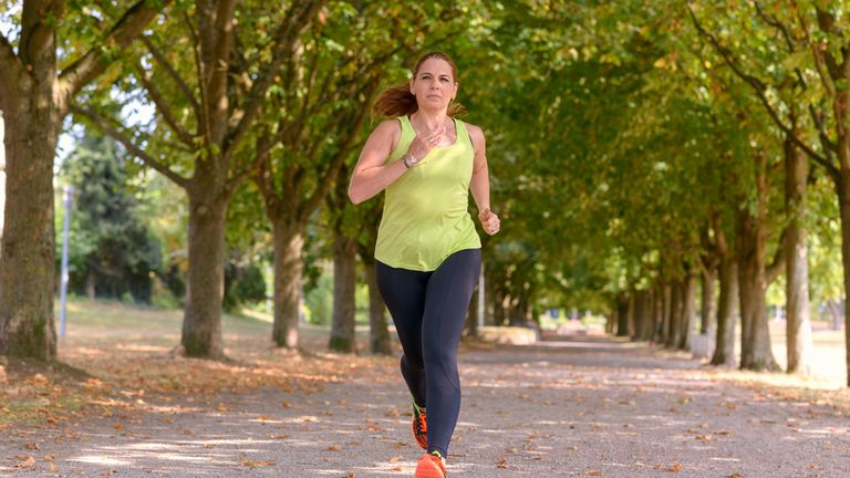 Getting daylight, including while exercising, is beneficial