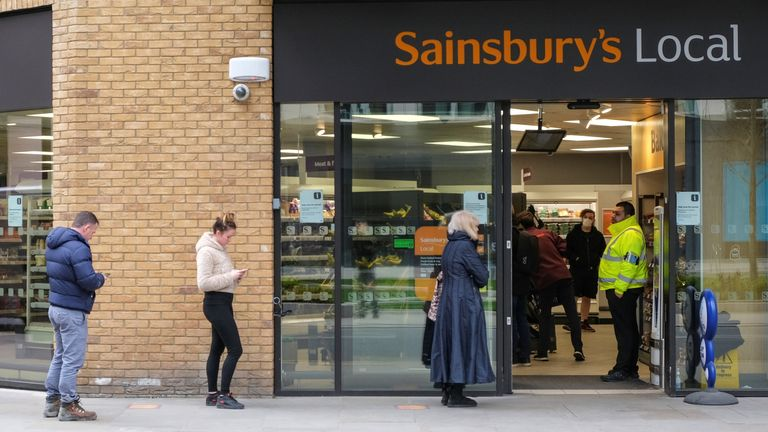 Sainsbury's received feedback that product limits were a barrier for people who were shopping for others