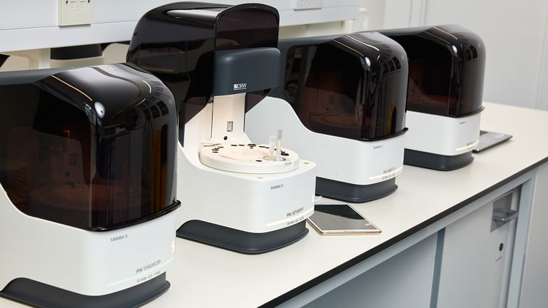 Ten Samba II machines are already being used at Addenbrook's Hospital in Cambridge this week