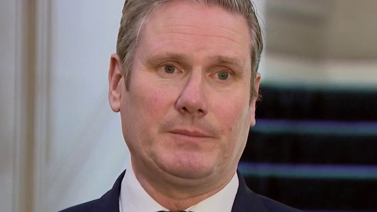 Sir Keir Starmer says we all need to follow the government's advice to beat coronavirus