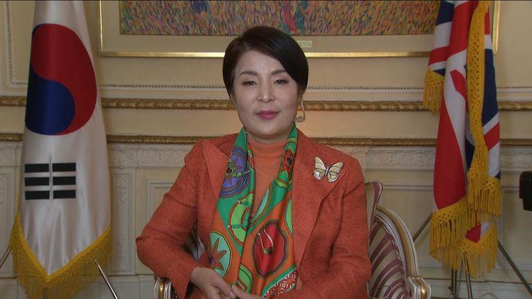 South korean ambassador to the uk