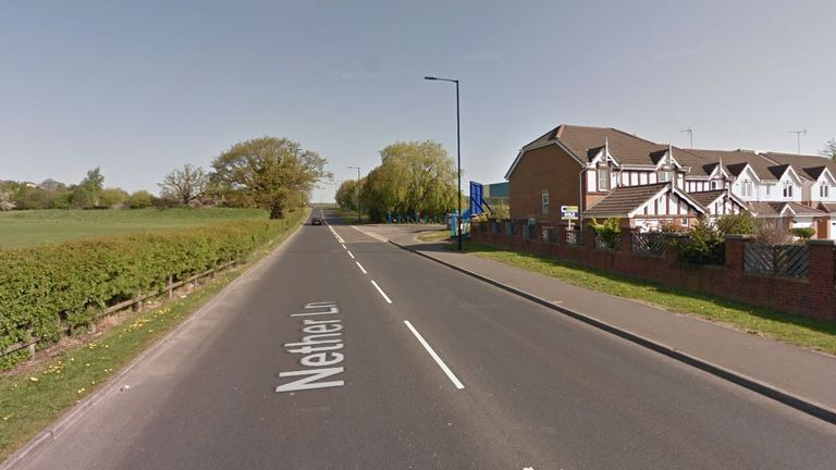 A male officer died in Ecclesfield while responding to an incident. (Google maps)