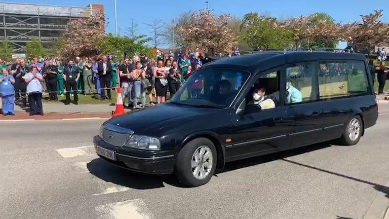 Sadeq Elhowsh funeral