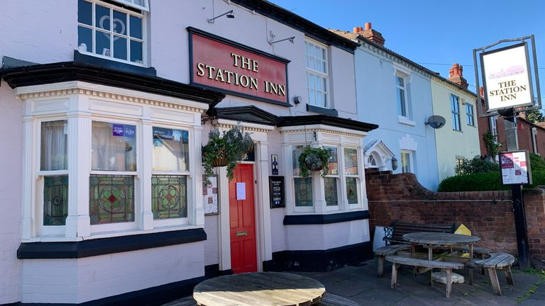 The Station Inn in Kidderminster may struggle to survive