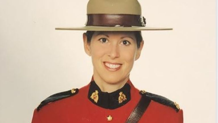 Heidi Stevenson, from the Royal Canadian Mounted Police, was killed in a shooting in Nova Scotia. Pic: RCMP