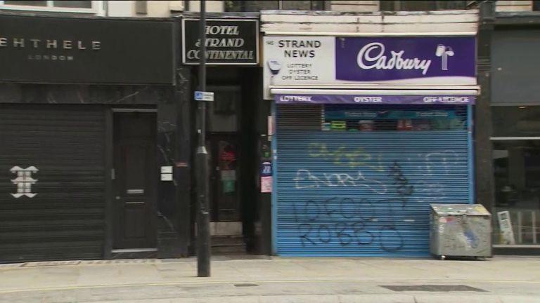 Small businesses closed due to coronavirus