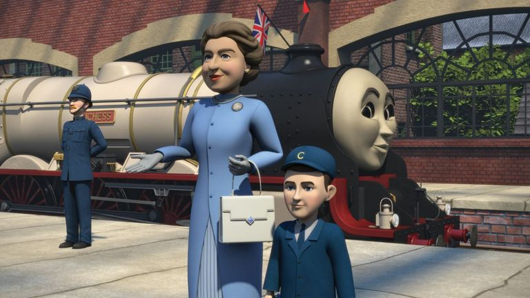 The Queen and a young Prince Charles feature in new Thomas The Tank Engine episode The Royal Engine, marking the character's 75th anniversary