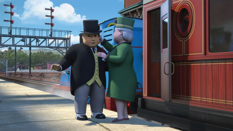 Thomas the Tank Engine is taking the Fat Controller to Buckingham Palace in new special episode, The Royal Engine