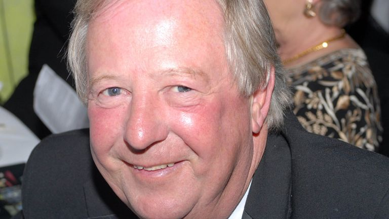 Tim Brooke-Taylor, seen in 2007, has died after catching coronavirus, his agent has said