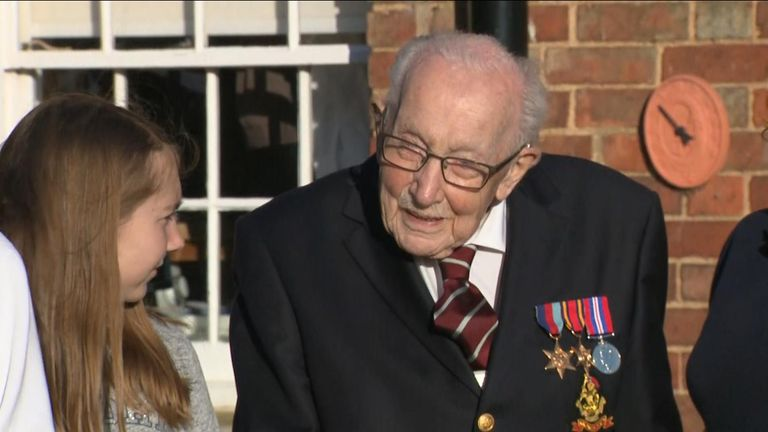 War veteran Tom Moore