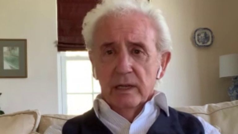Tony Christie is proud of the NHS