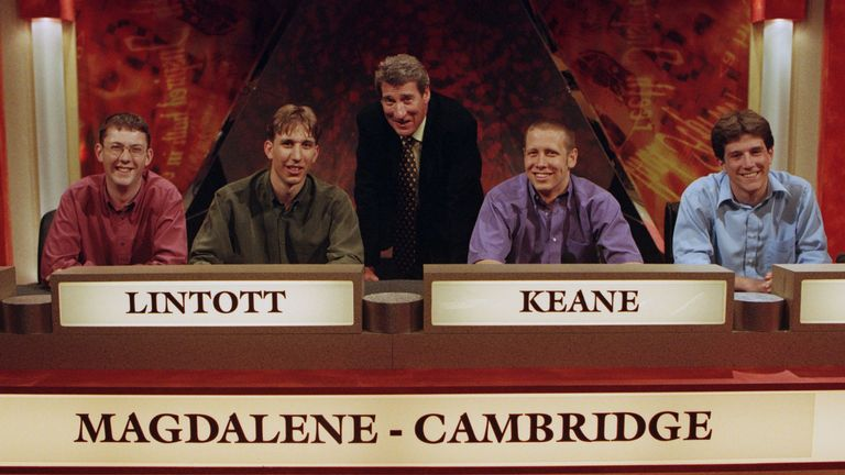 'University Challenge' TV Quiz Show - 2000