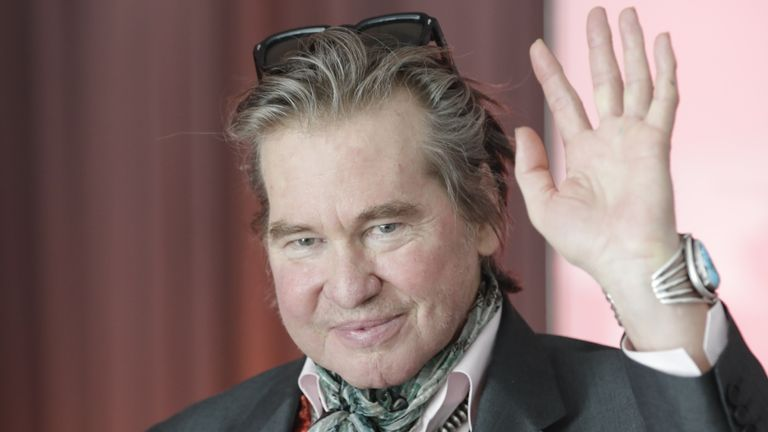 Kilmer had a tracheotomy to treat throat cancer