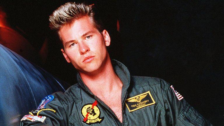 Val Kilmer in Top Gun, 1986. Pic: Paramount/Kobal/Shutterstock