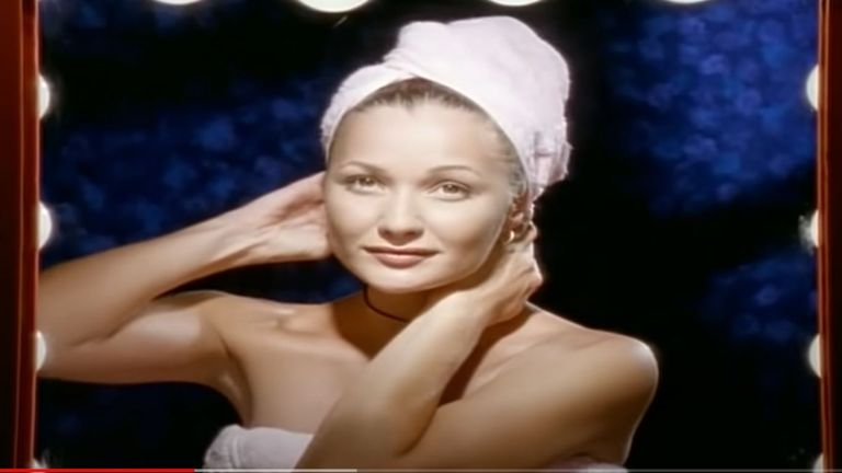 Whigfield in the Saturday Night video