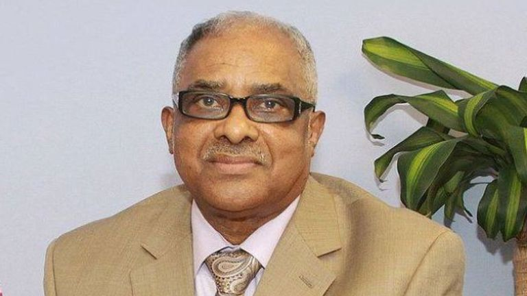 Reverend Bishop Theophilus Augustus McCalla MBE, 86, had underlying health issues