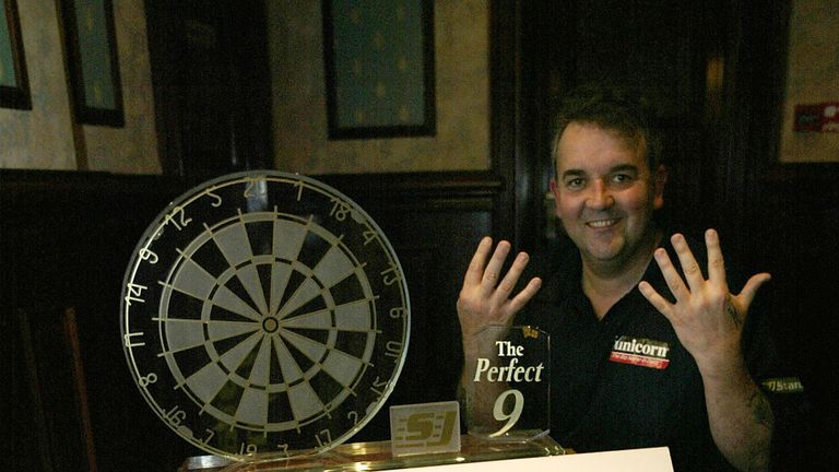 Check out all of Phil Taylor's nine-darters which took place in front of the Sky Sports cameras!