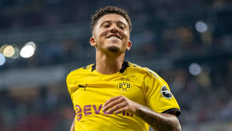 Jamie Redknapp discusses Jadon Sancho's next move and how he would handle the pressure of joining a club like Manchester United