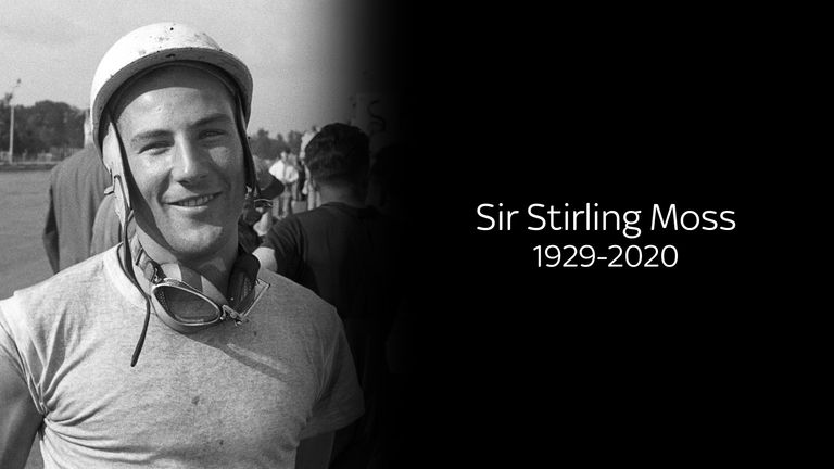 Remembering Sir Stirling Moss, the British motor racing and F1 legend who passed away on Easter Sunday at the age of 90