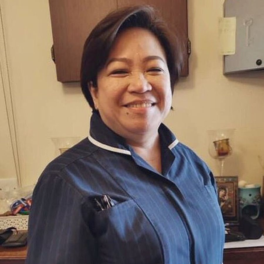 Amor Padilla Gatinao is one of five Filipino nurses who has died after contracting COVID-19