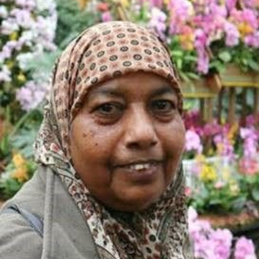 Rahimi Bibi Sidhanee, 68, was a nurse who worked in care homes and nursing homes. She died after catching coronavirus