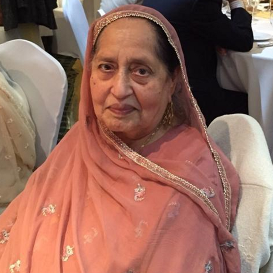Nazir Begum Sharif died from coronavirus on 3 April at Whipps Cross Hospital, east London She was diagnosed with cancer a few months ago and had been in and out of hospital