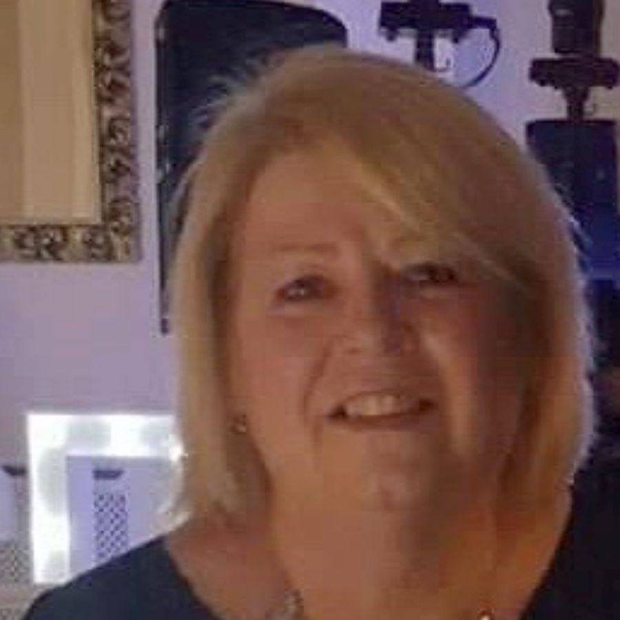 "Nurse Angie Cunningham died at Borders General Hospital, where she worked, on April 22. Ms Cunningham's family said: ""Angie was a much-loved wife, mother, sister, granny and great granny, as well as a friend to many more."""