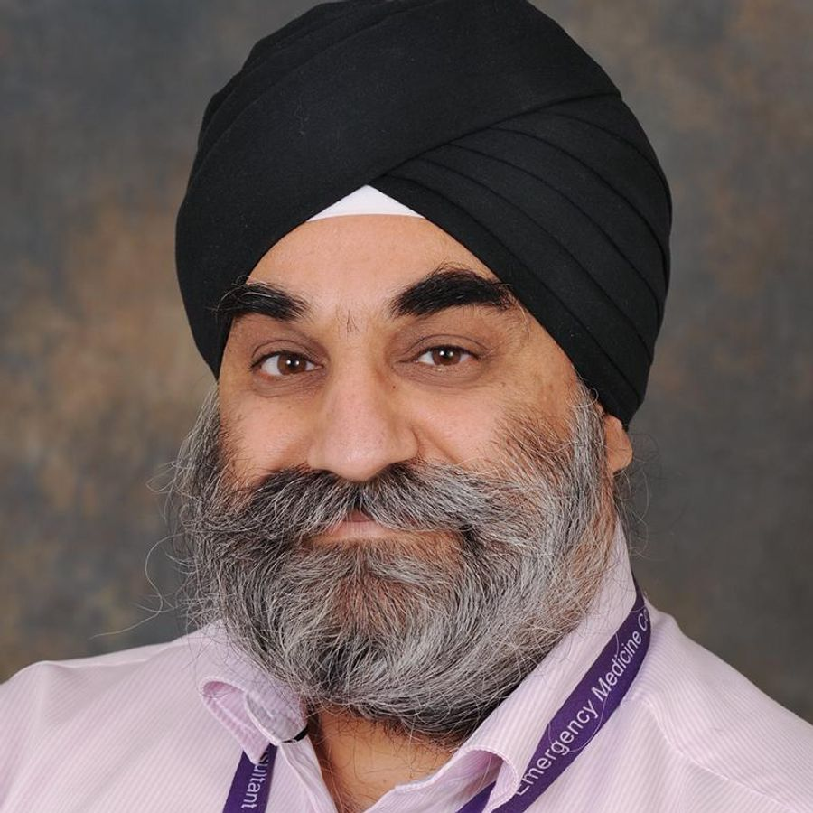 Mr Manjeet Singh Riyat has died after testing positive for COVID-19