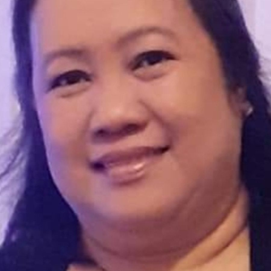 Linnette Cruz, 51, senior head nurse at a dental practice in Sketty in Swansea, died on 14 April. She was treated in the intensive care unit at Morriston Hospital. Pic: SBUHB