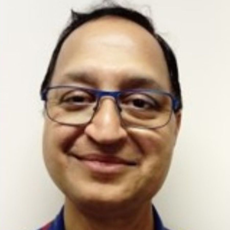 Vivek Sharma, healthcare worker