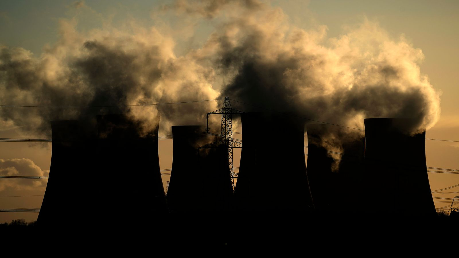Coronavirus: Carbon emissions fall by more than a third in lockdown | Climate News | Sky News