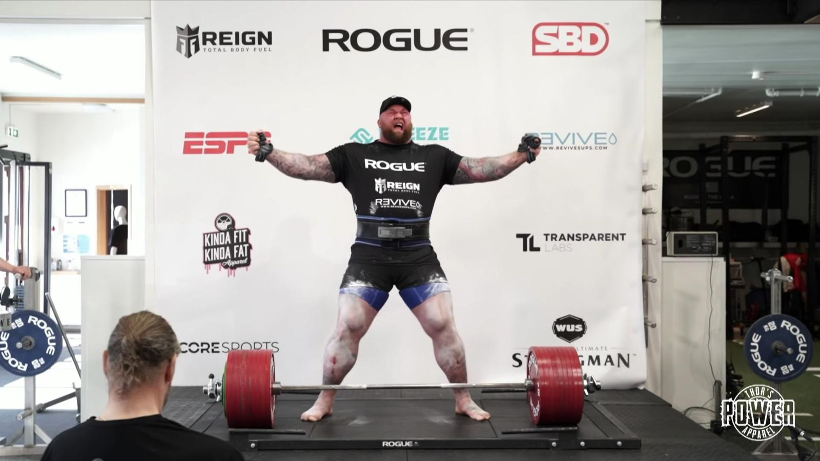Game of Thrones actor Hafthor Bjornsson breaks deadlifting world ...