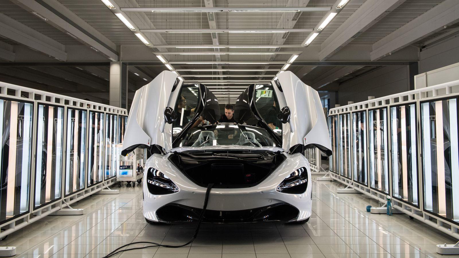 Saudi state fund buys McLaren stake in £550m deal