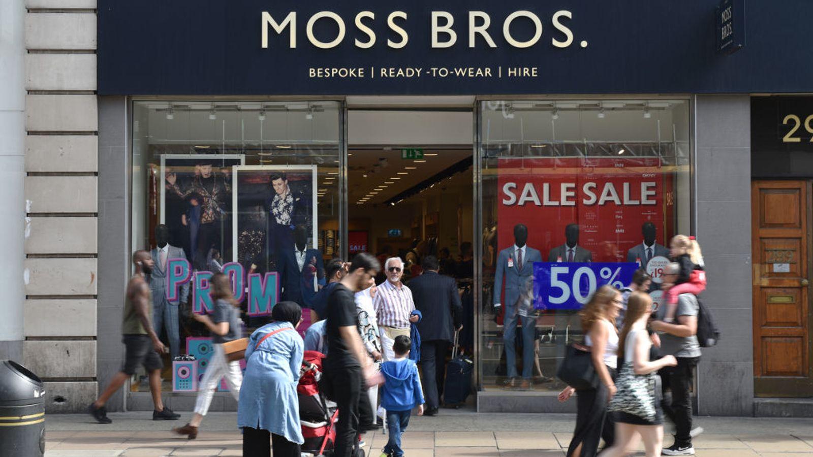 Coronavirus: Moss Bros suitor abandons bid to dump takeover - EpicNews