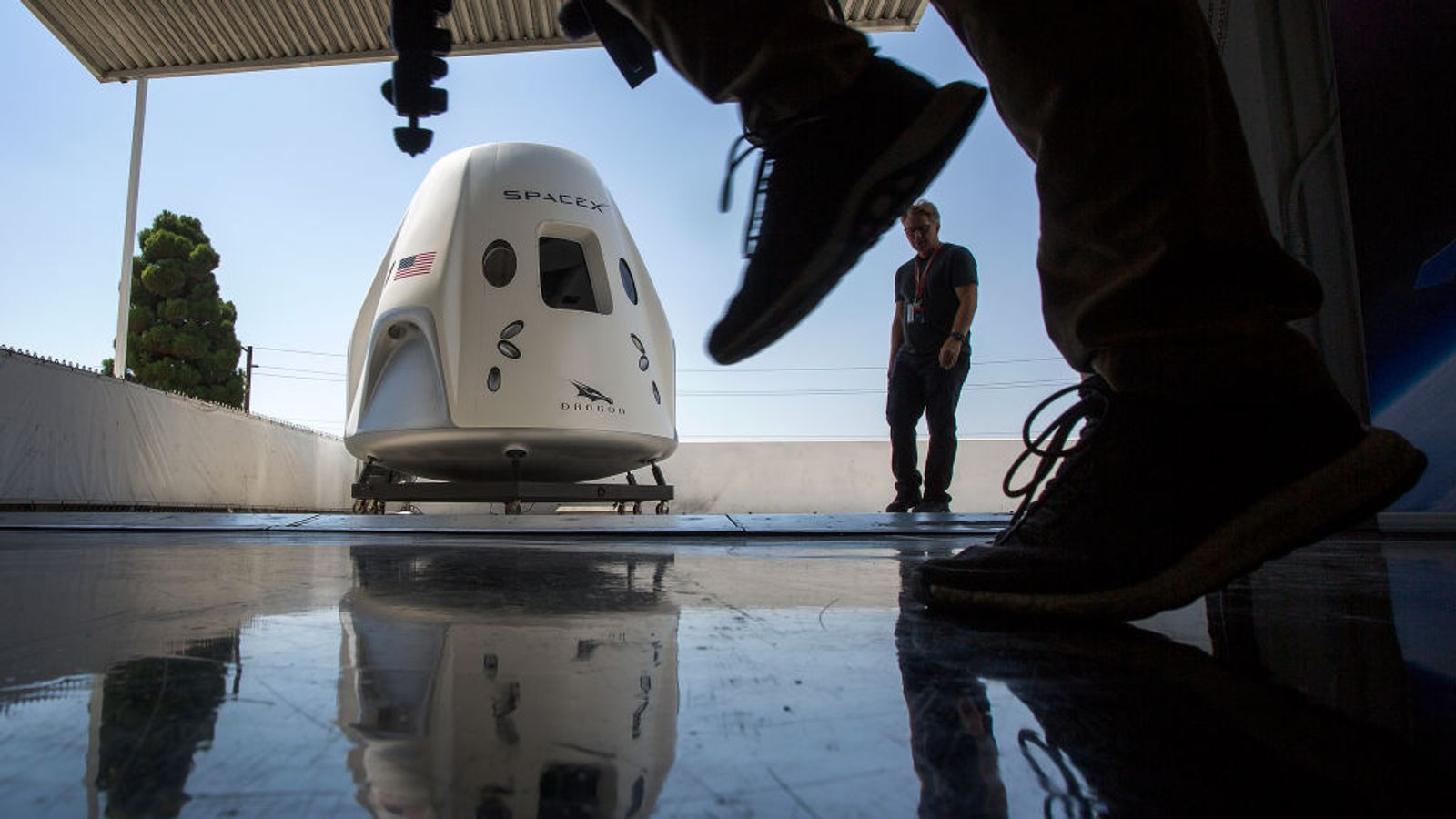 NASA delays giving green light to historic SpaceX astronaut launch - Sky News