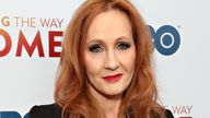 """JK Rowling attends HBO's """"Finding The Way Home"""" World Premiere at Hudson Yards on December 11, 2019 in New York City"""