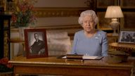 Queen Elizabeth addresses the nation to mark VE Day anniversary