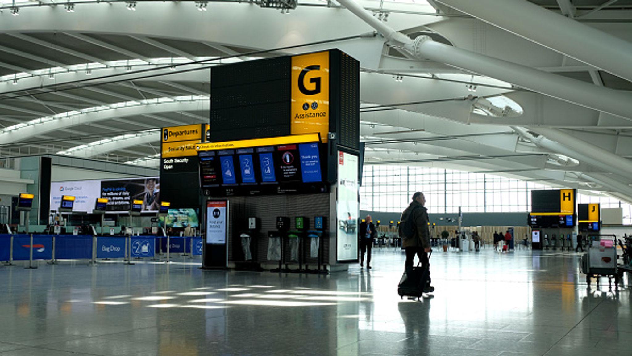 Coronavirus: Heathrow Airport to begin trial of temperature ...