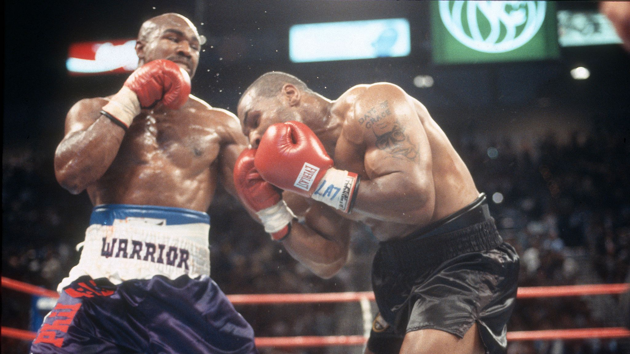 Round Three Mike Tyson Hints At New Bout With Old Rival Evander Holyfield World News Sky News