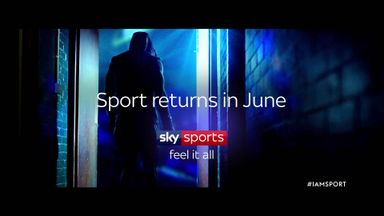 Sport returns in June