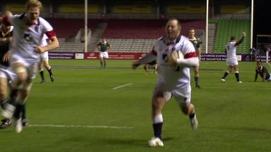 Rugby's forwards with flair