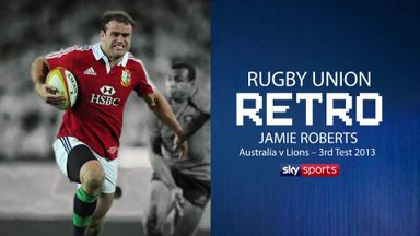 Rugby Retro: Jamie Roberts on 2013 Lions