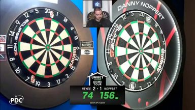 Noppert nails a 156 checkout