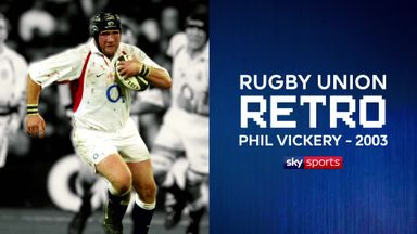 Rugby Retro: Phil Vickery 2003