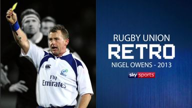 Rugby Retro: Nigel Owens on SA vs NZ 2013