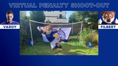 Virtual penalties: Vardy v Filbert the Fox